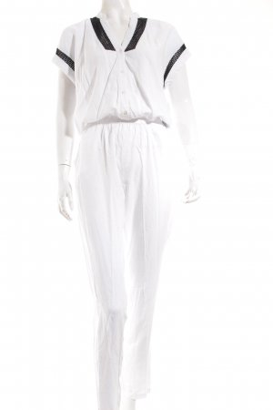 Liebeskind Jumpsuit white-black casual look