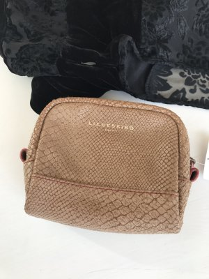 Liebeskind kleine Leder Clutch Tasche Kosmetik pochette
