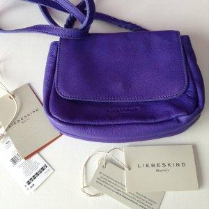 Liebeskind, kleine Leder Tasche in lila