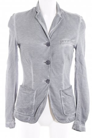 Liebeskind Korte blazer grijs casual uitstraling