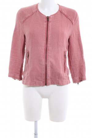 Liebeskind Short Jacket pink weave pattern casual look