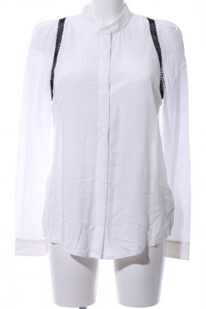 Liebeskind Long Sleeve Blouse white-black casual look