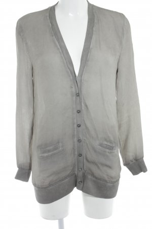 Liebeskind Langarm-Bluse graubraun schlichter Stil