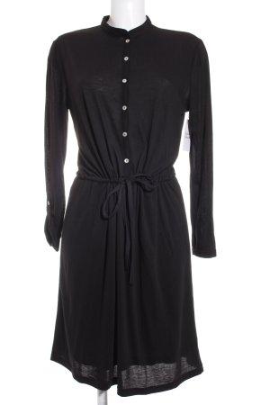 Liebeskind Vestido de manga larga negro look casual