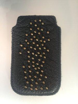 Liebeskind Leder Handy Hülle Schwarz iPhone Hülle