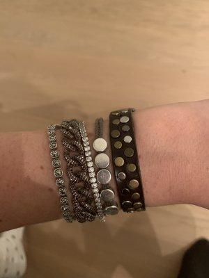 Liebeskind Lederen armband veelkleurig Leer