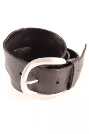 Liebeskind Leather Belt black simple style