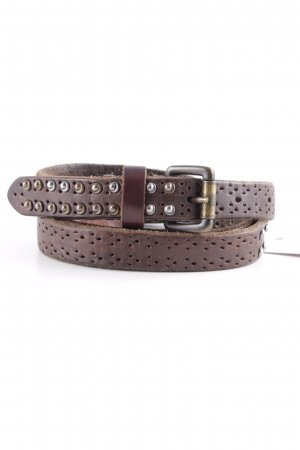 Liebeskind Leather Belt black brown casual look