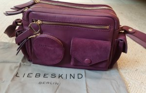 Liebeskind Lederhandtasche lila
