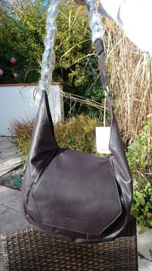 Liebeskind Berlin Shoulder Bag dark brown leather