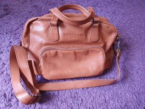 Liebeskind Handbag light brown-brown leather