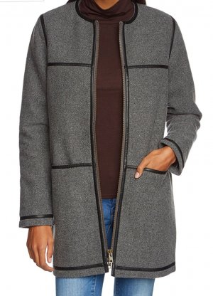 Liebeskind Manteau noir-gris