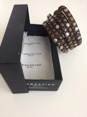 Liebeskind Nieten-Leder Armband