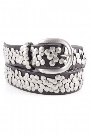 Liebeskind Studded Belt dark brown-silver-colored casual look