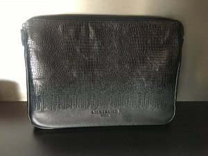 Liebeskind Berlin Laptop bag black leather