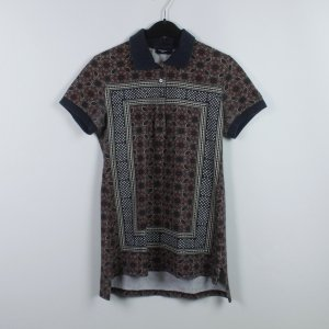 Liebeskind Polo Shirt brown red-dark blue