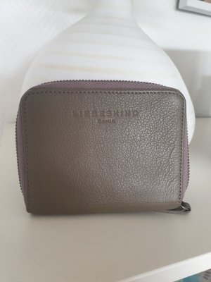 Liebeskind Berlin Wallet taupe-grey brown leather