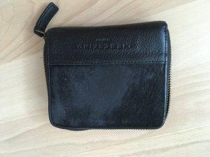 Liebeskind Portemonnaie schwarz mit Fell