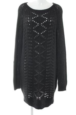 Liebeskind Abito maglione nero-grigio puntinato stile casual