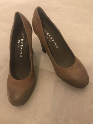 Liebeskind High Heels cognac-coloured