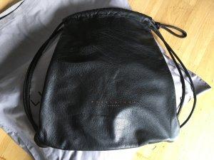 Liebeskind Sac à dos pour ordinateur portable noir-bronze cuir
