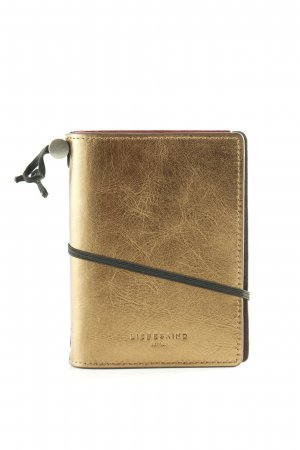 Liebeskind Writing Case bronze-colored wet-look