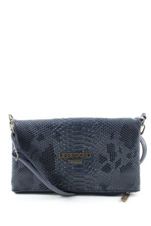 Liebeskind Shoulder Bag dark blue animal pattern casual look
