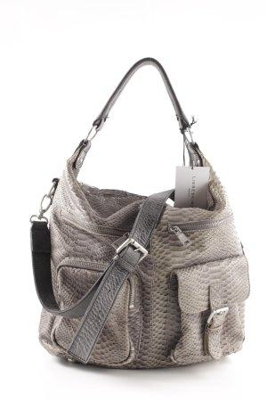 Liebeskind Shoulder Bag natural white animal pattern casual look