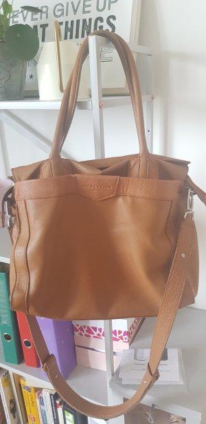 Liebeskind Berlin Shopper brown leather