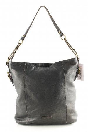 Liebeskind Borsa shopper marrone-nero stile casual