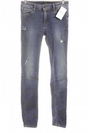 Liebeskind Skinny Jeans blue distressed style