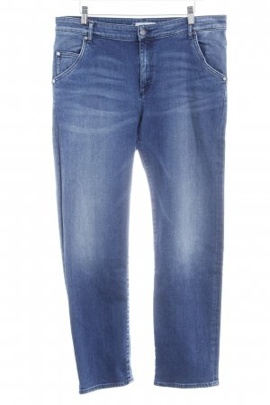 Liebeskind Slim Jeans blau Washed-Optik