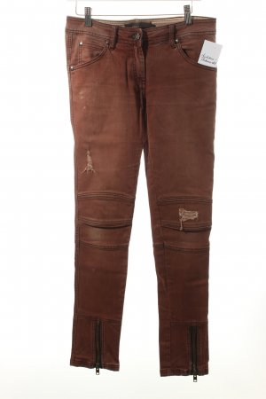 Liebeskind Slim Jeans cognac Street-Fashion-Look