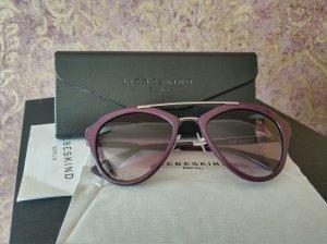 Liebeskind Gafas de piloto violeta amarronado-color plata