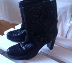 Liebeskind Stiefel genarbtes Leder, schwarz, Gr 39