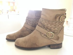 Liebeskind Berlin Ankle Boots beige leather