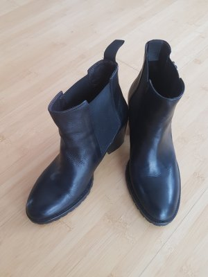 Liebeskind Bottines à enfiler noir cuir