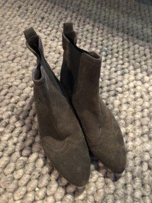 Liebeskind Botines gris antracita-gris oscuro