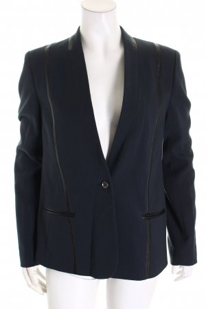 Liebeskind Sweatblazer petrol-schwarz Business-Look