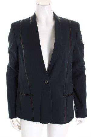Liebeskind Blazer sweat bleu pétrole-noir polyester