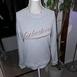 Liebeskind Sweat Shirt light grey-camel