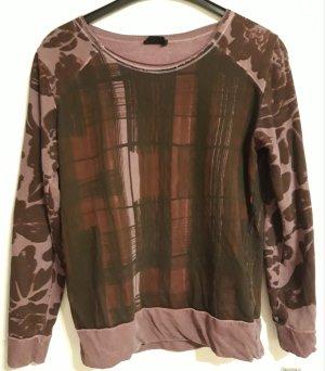 Liebeskind Sweatshirt zwart-paars