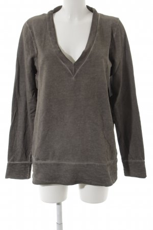 Liebeskind Sweat Shirt grey flecked casual look