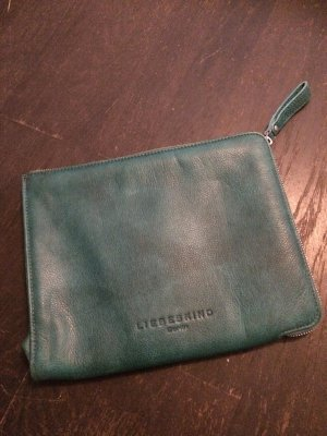 Liebeskind Laptop bag cadet blue leather