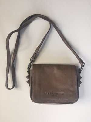 Liebeskind Crossbody bag brown leather
