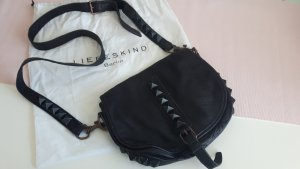 Liebeskind Crossbody bag black leather