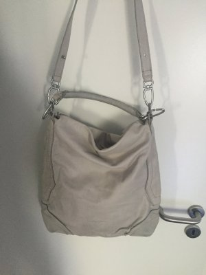 Liebeskind Pouch Bag light grey leather