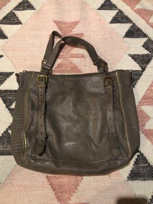 Liebeskind Berlin Shoulder Bag grey brown