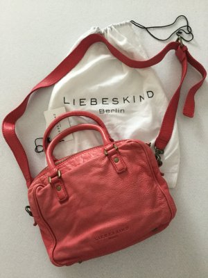 Liebeskind Berlin Mobile Phone Case bright red leather