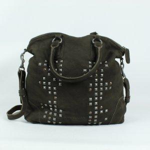 Liebeskind Berlin Crossbody bag black brown leather